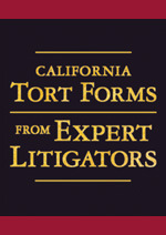 Congratulations to Chris Aitken and Richard Cohn on Their Contributions to the Latest Edition of California Tort Forms From Expert Litigators